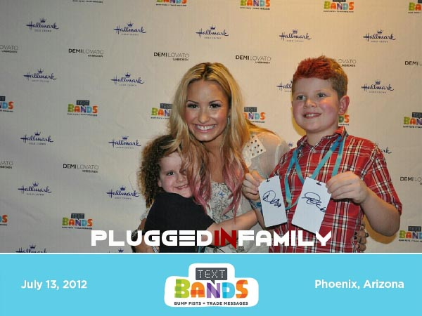 Meet and greet with Demi Lovato
