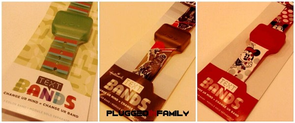 Text Bands from Hallmark Darth Vader Minnie Mouse
