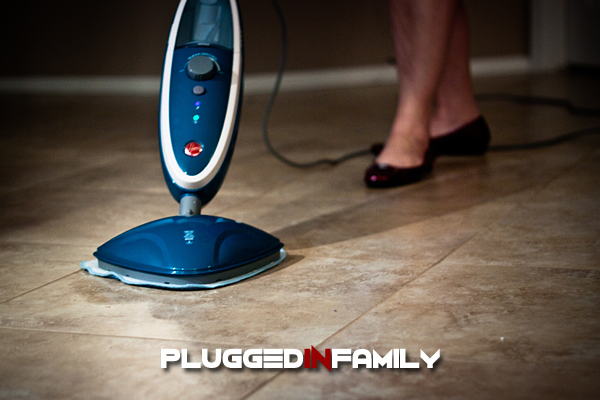 Trying out the Hoover Twin Tank Steam Mop