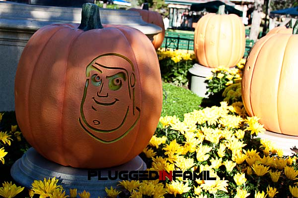 Buzz Lightyear Pumpkin