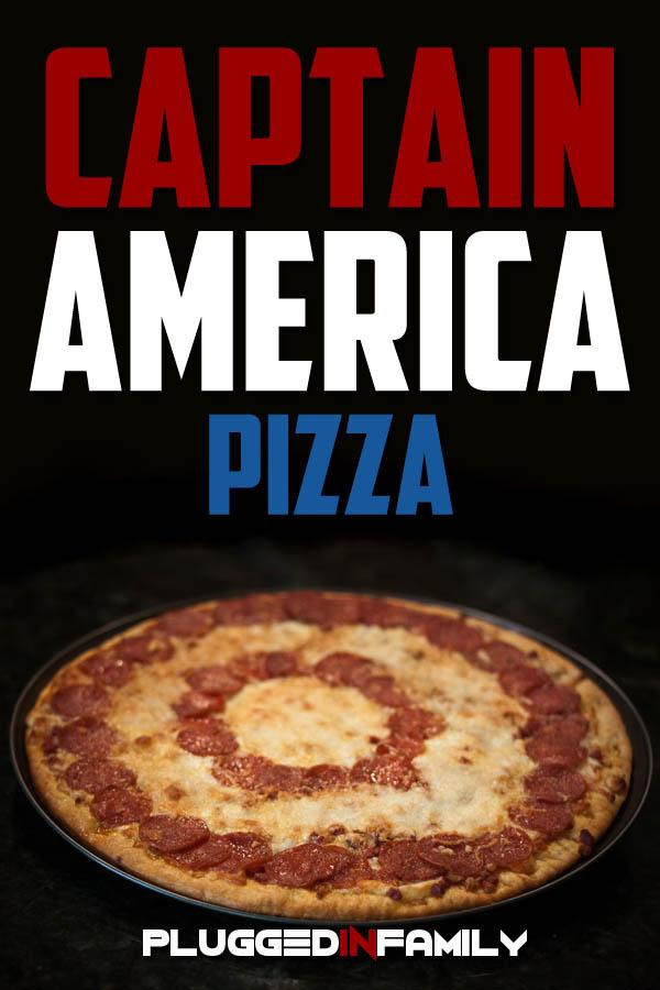 Captain America Pizza