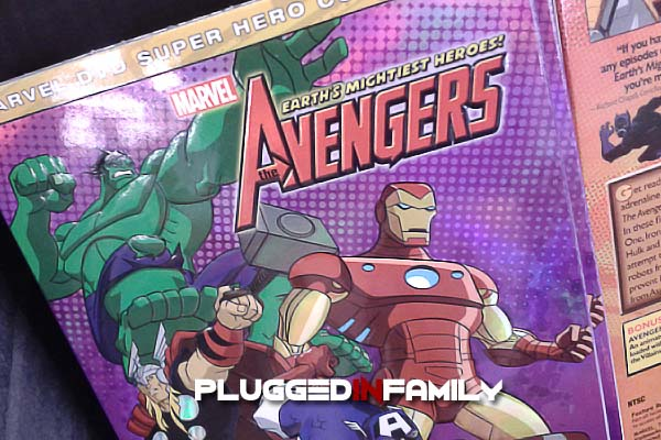 Earth's Mightiest Heroes The Avengers DVD from Marvel