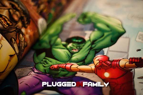 The Avengers Graphic Novel