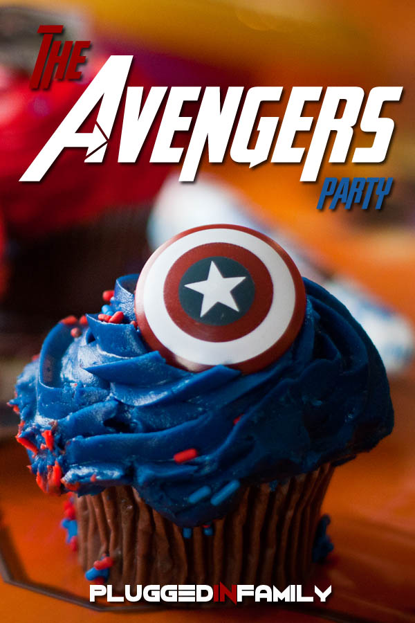The Avengers Party for Superheroes