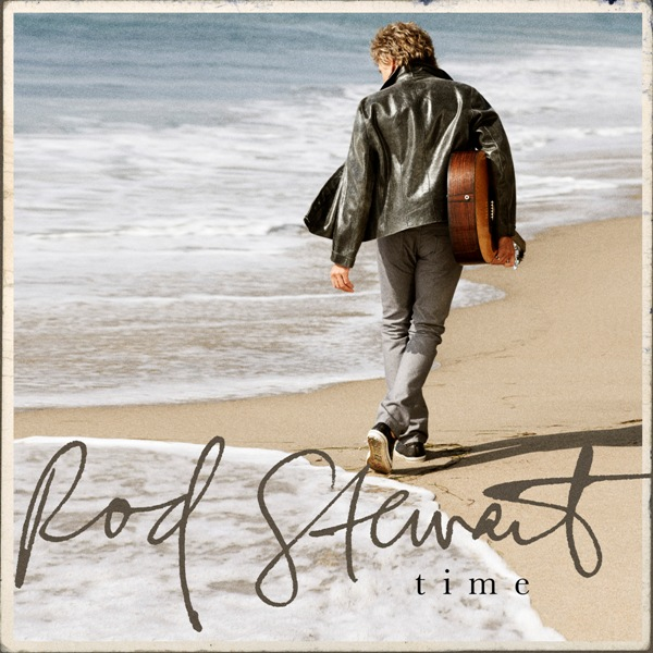 Rod Stewart new album Time cover