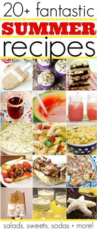 20 plus fantastic summer recipes with salads sweets sodas and even more