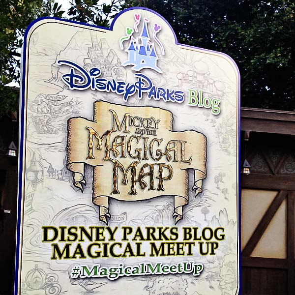 Disney Parks Blog Magical Meet Up Mickey and the Magical Map