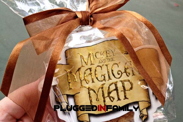 Mickey and the Magical Map Luggage Tag