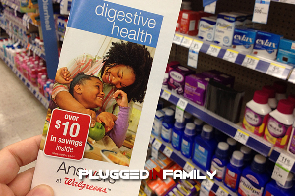 Digestive health Answers at Walgreens brochure