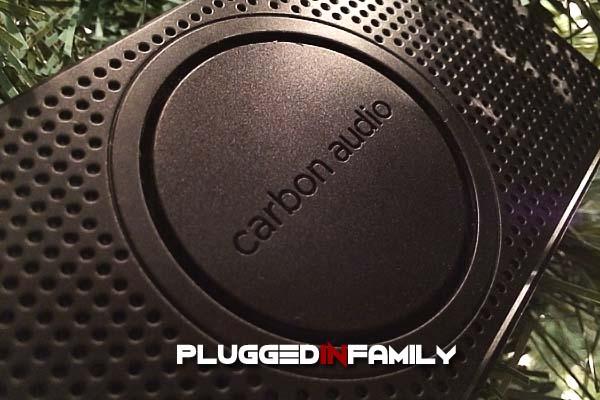 Carbon Audio Pocket Speaker close up view
