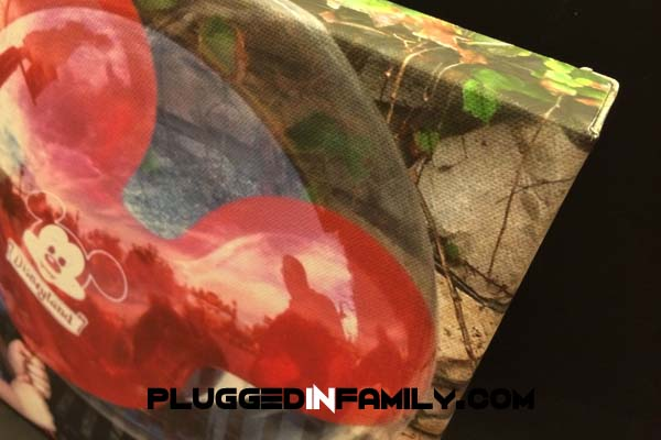 Close up of canvas print ©2013 Plugged In Family ©2013 Wright Media LLC