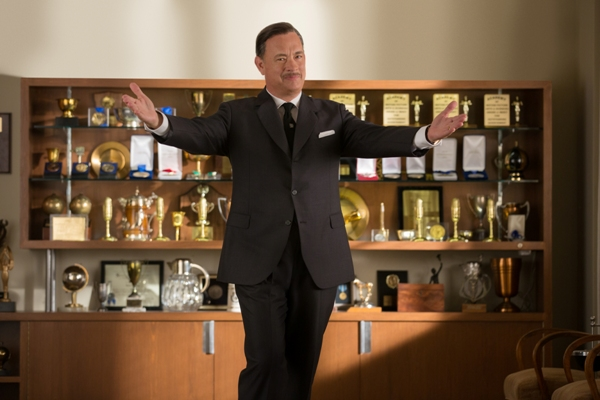 Tom Hanks plays Walt Disney in Saving Mr. Banks