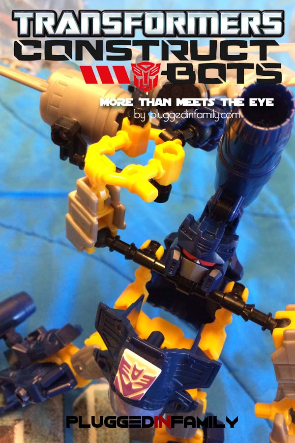 Transformers Construct Bots More Than Meets The Eye