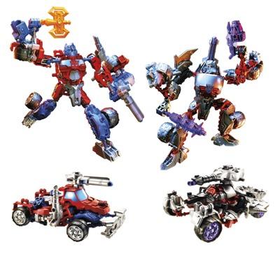 Transformers ConstructABots Optimus Prime