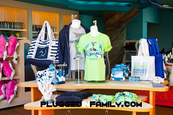 SeaWorld San Diego store entrance is open and welcoming