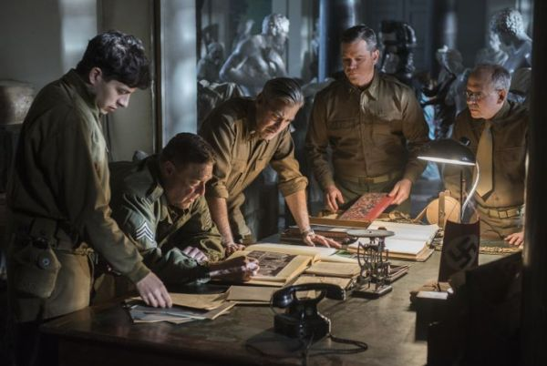 The Monuments Men Movie with George Clooney