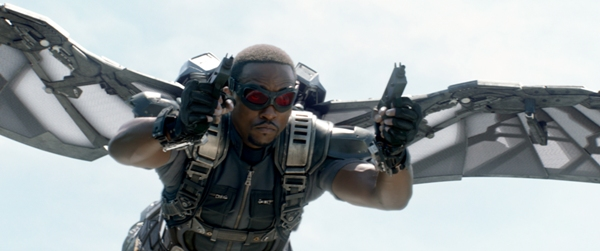 Anthony Mackie plays Sam Wilson known as Falcon
