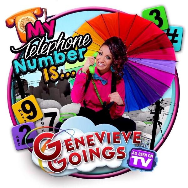 Choo Choo Soul with Genevieve Goings from Disney new single My Telephone Number Is