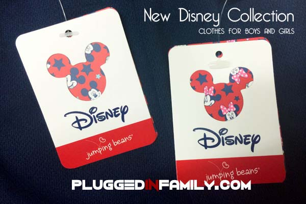 New Disney collection fashion line clothes for boys and girls