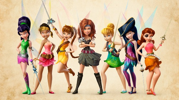 The fairies of Pixie Hollow in The Pirate Fairy