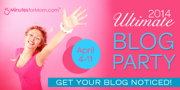 Ultimate Blog Party with 5 Minutes for Mom 2014