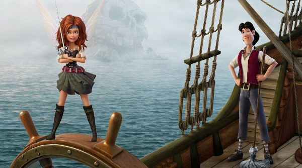 Zarina and James played by Tom Hiddleston are two new characters in the Pirate Fairy