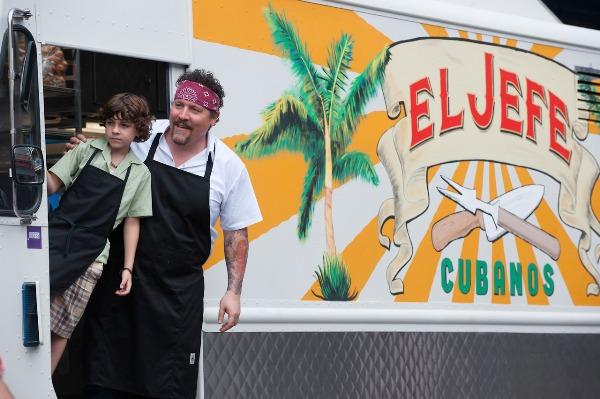 Chef Carl Casper and son in Chef review