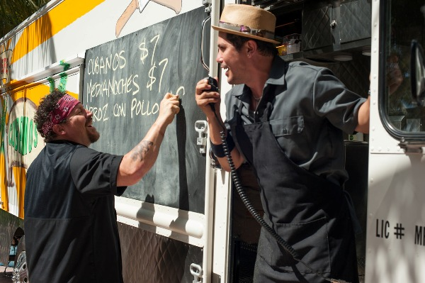 Food truck in Chef movie