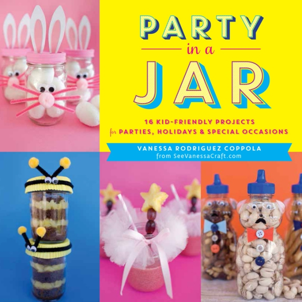 Party In A Jar book by Vanessa Rodriguez Coppola