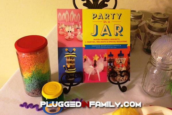 Party In A Jar book launch party crafts