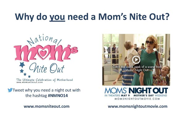 Why do you need a Mom's Nite Out