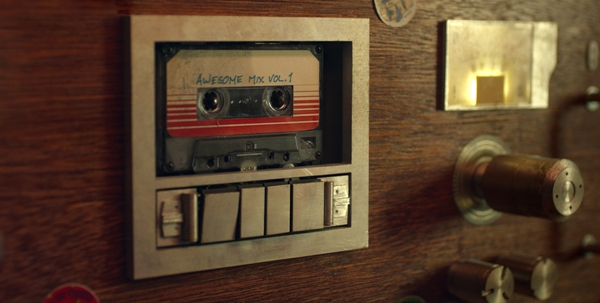 Awesome Mix Vol 1 tape from Guardians of the Galaxy