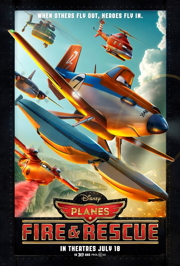 Disney's Planes Fire and Rescue Movie Poster