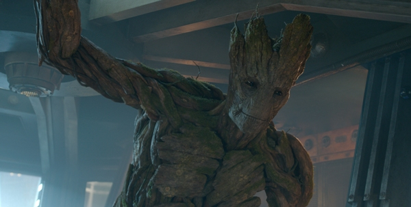 Groot voiced by Vin Diesel from Guardians of the Galaxy