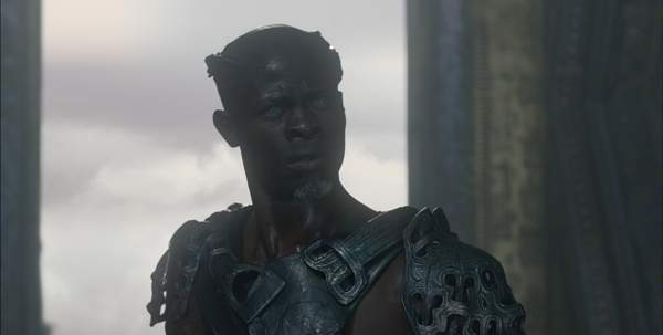 Korath played by Djimon Hounsou in Guardians of the Galaxy