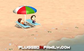 Even Miis need to go to the beach
