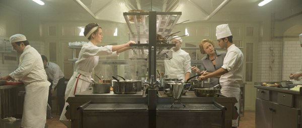 Helen Mirren, Charlotte Le Bon and Manish Dayal in The Hundred-Foot Journey