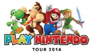 Play Nintendo Tour 2014 featuring 2DS and Mario Kart 8