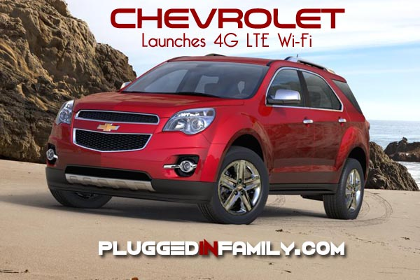 Chevrolet launches 4G LTE Wi-Fi in Cars