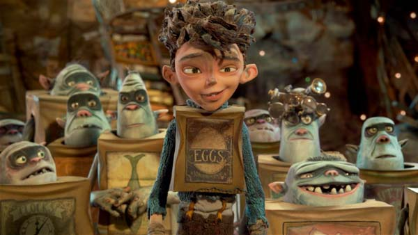 Eggs and his family from The BoxTrolls