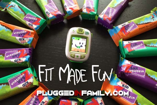 Fit Made Fun with LeapBand and CLIF Kid