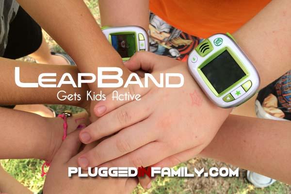 LeapBand gets kids active