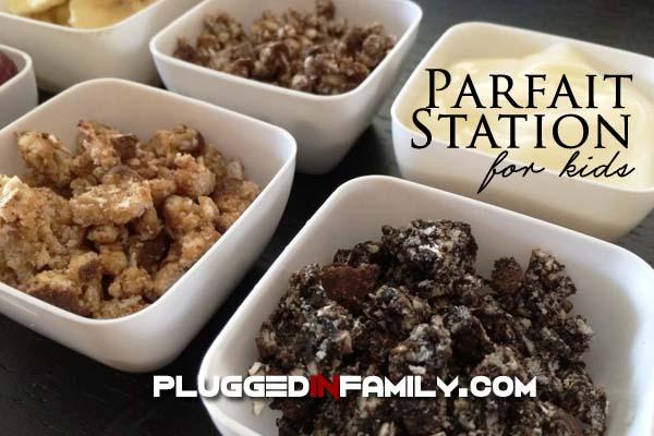 Parfait Station for Kids