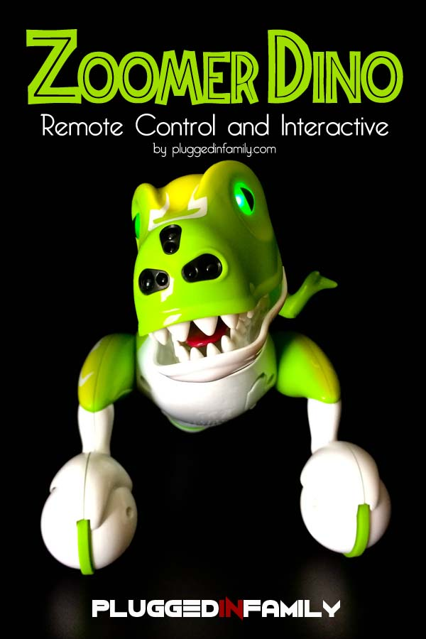 Zoomer Dino by Spin Master is remote control and interactive