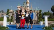 Disneyland Ambassadors 2015-2016 Ceremony with Jessica Bernard, Julie Reihm Casaletto, and Allie Kawamoto