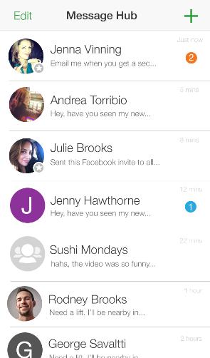 MessageHub Conversations