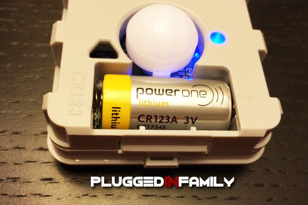 PEQ battery powered motion sensor for your home