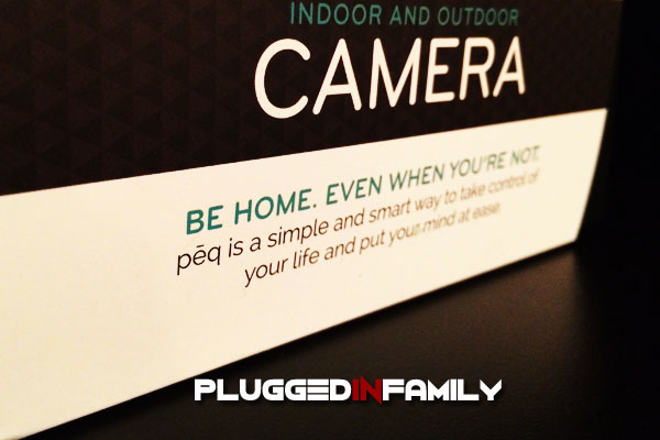 PEQ indoor and outdoor camera for the home