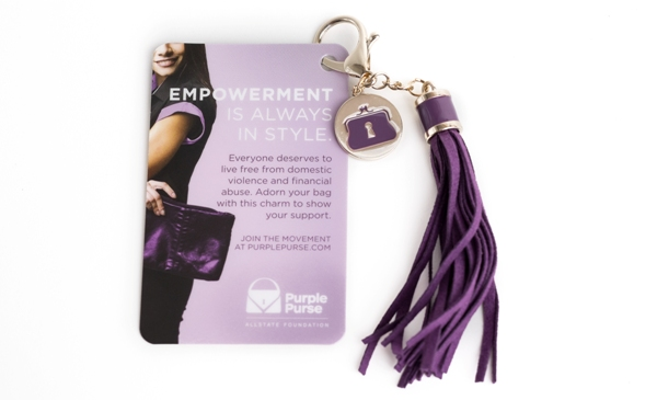 Purple Purse Challenge by Allstate