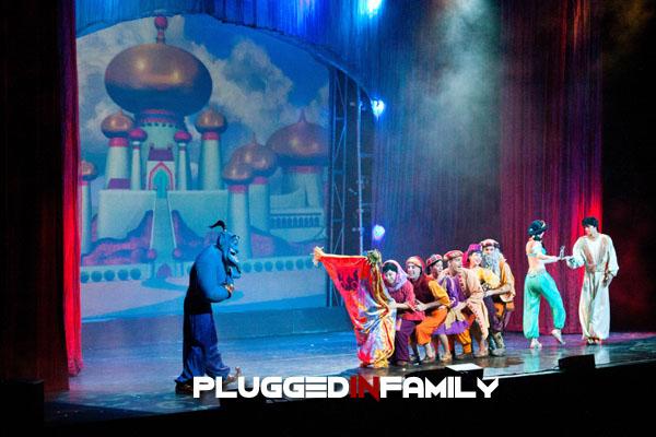 Robin Williams singing as Genie from Aladdin